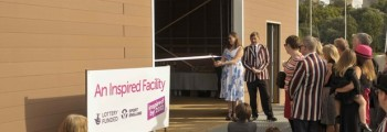 New Boat shed opened